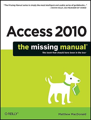 Access 2010 By MacDonald, Matthew